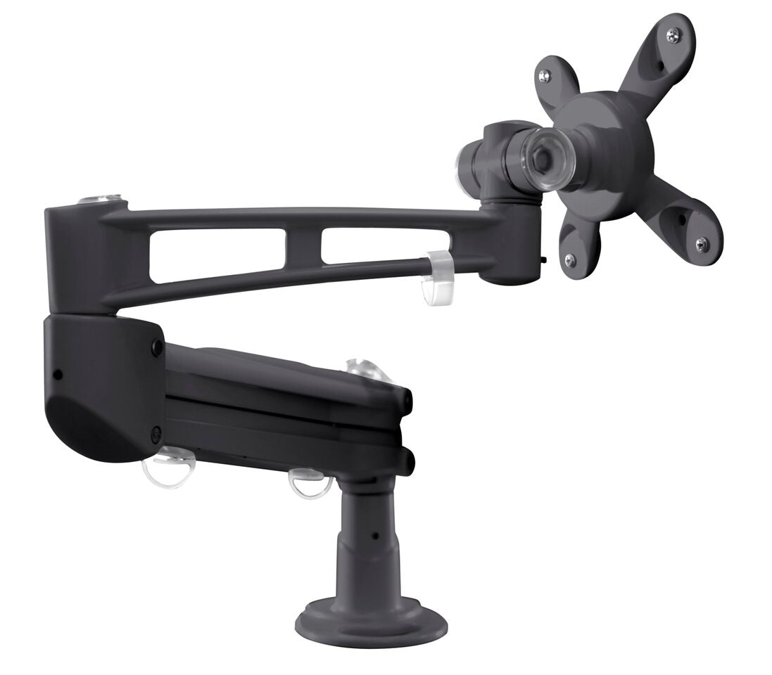 Ergnomic Monitor Arm in Black