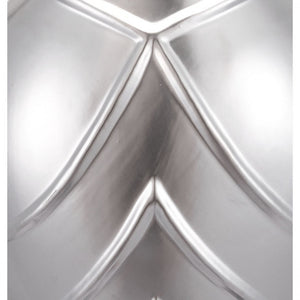 Lux Matte Silver Lined Wall Vase