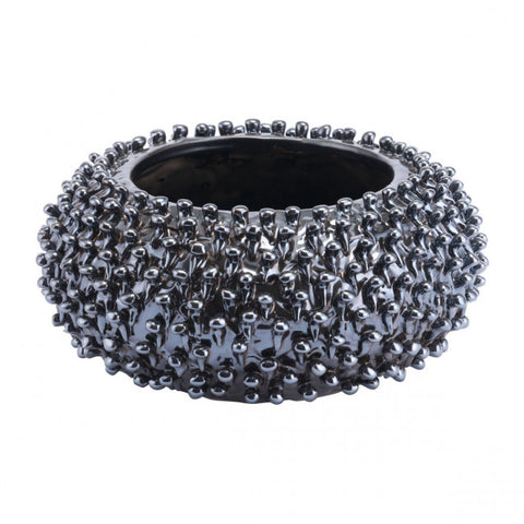 Gorgeous Decorative Dish in Shimmering Black