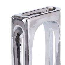 Load image into Gallery viewer, Rectangular Desktop Sculpture w/ High-Gloss Silver Finish