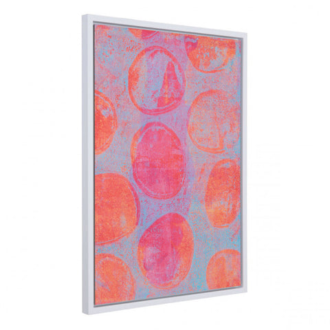 Welcoming Pink & Orange Blossom Wall Hanging