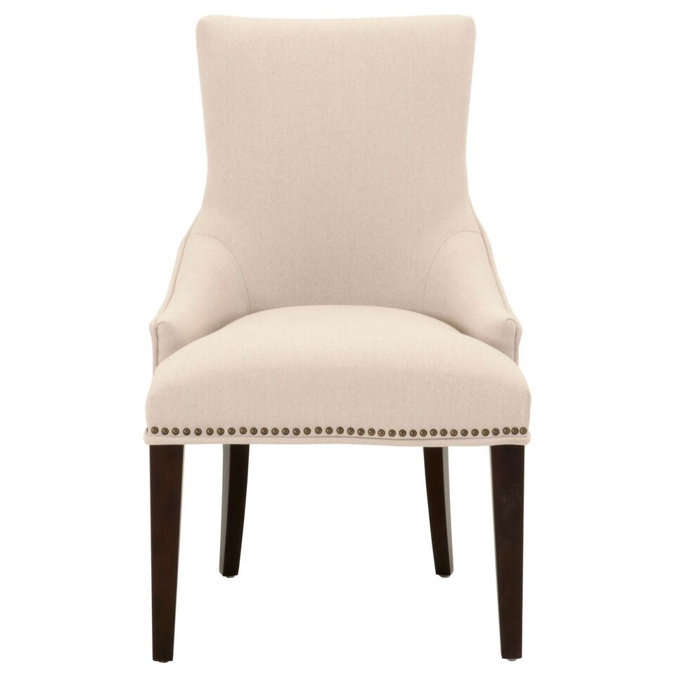 Comfortable Padded White Guest or Conference Chair