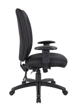 Load image into Gallery viewer, Double Ridge Padded Everyday Black High Back Office Chair