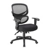 Rolling Black Mesh Office Chair from Boss