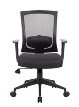 Load image into Gallery viewer, Cushioned Mesh Black Office Chair Built for Comfort