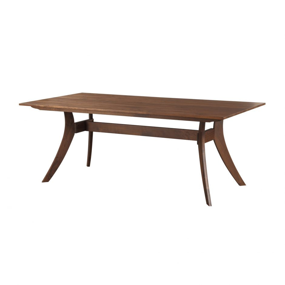 "Contemporary 79"" Solid Wood Conference Table"