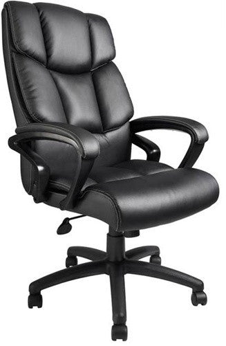 Italian Leather Modern Office Chair with Ergonomic Design