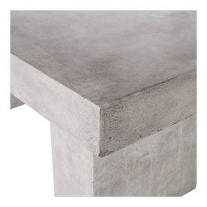 "Unique Concrete 63"" Outdoor Meeting Table or Desk"