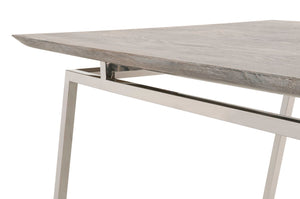 "Sand-Washed Oak Top 87"" Conference Table"