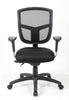 Ultra Adjustable Black Office Chair with Mesh Back