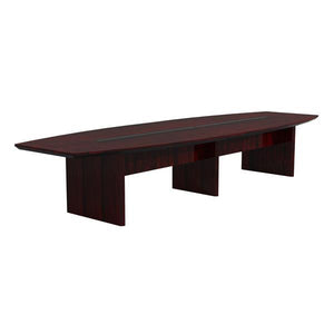 Premium 12' Conference Table in Mahogany with Quality Beveled Edge