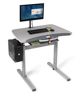 Premium Treadmill Desk with Automatic Height Adjustment by LifeSpan (TR5000DT7)
