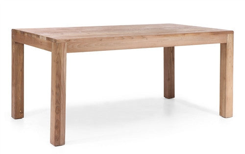 Verona Solid Wood Desk with Natural Distressed Finish