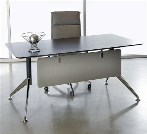 "Contemporary 63"" Office Desk in Espresso from Ergo Office"