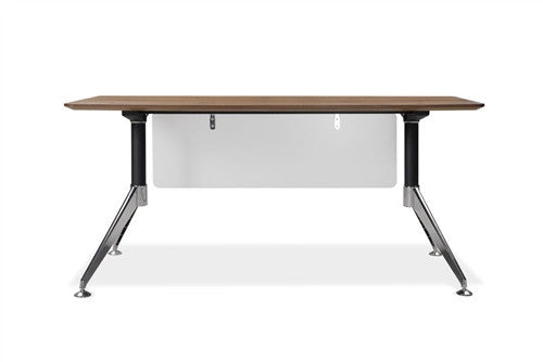 "63"" Office Desk in Walnut with Optional Lateral File"