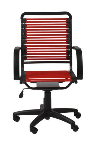 Bungee Comfortable Modern Chair with Red Supports