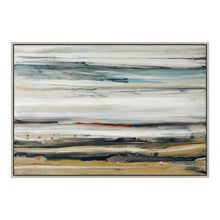 "Load image into Gallery viewer, Earth-Toned Acrylic 70"" x 48"" Wall Art on Canvas"
