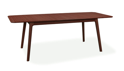 "64"" - 84"" Solid Bamboo Executive Desk or Conference Table in Sable Finish"