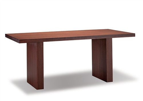 "Greenington Solid Bamboo 72"" Modern Office Desk in Nutmeg Finish"