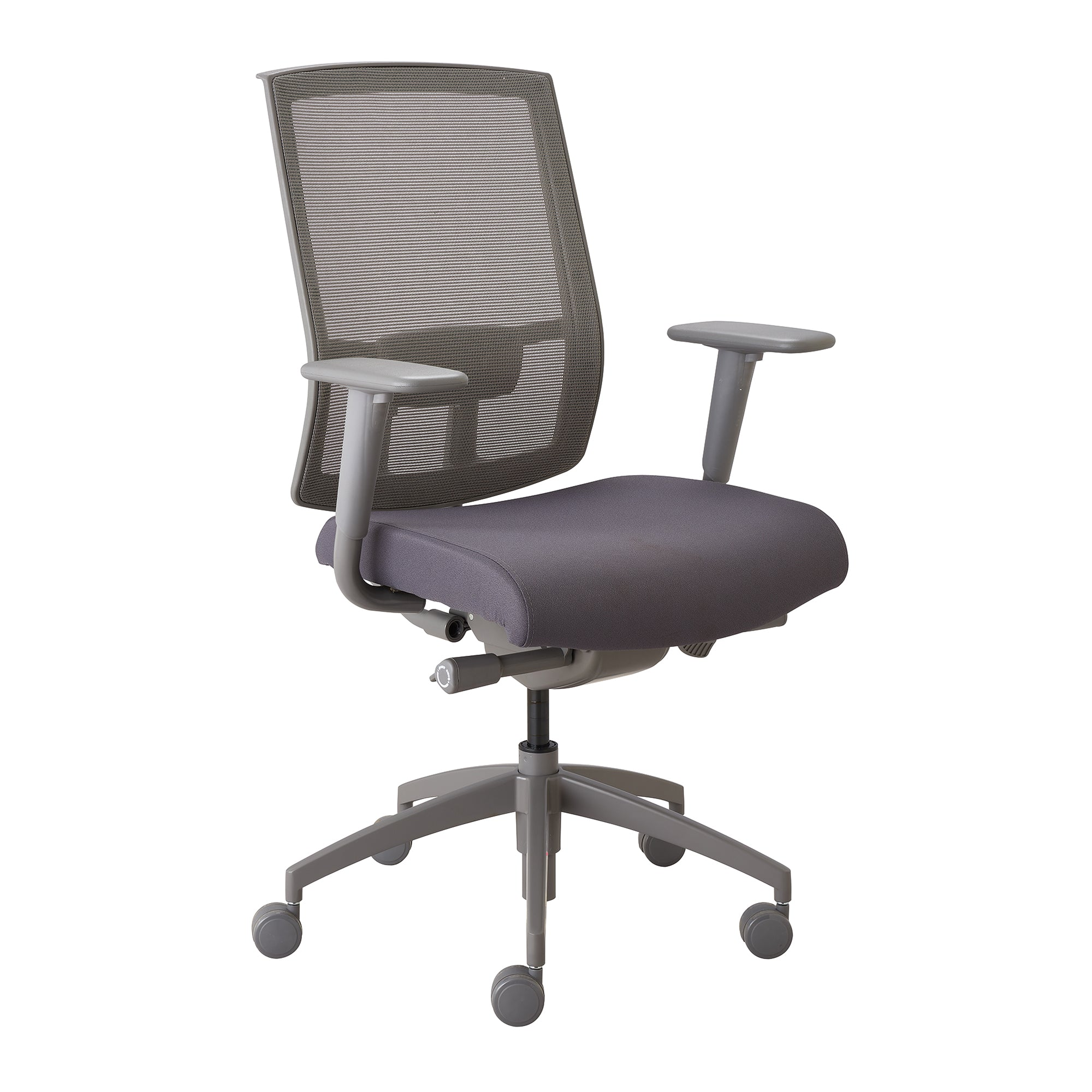 Quality Adjustable Office Chair in Gray