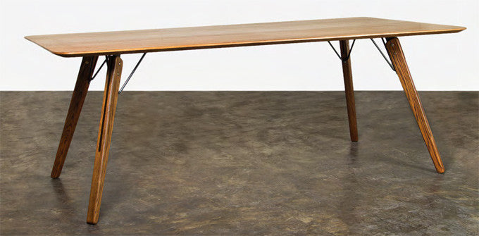 "Modern 79"" Elegant Fumed Oak Executive Office Desk"