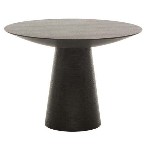 "61"" Ribbed Round Meeting Table"
