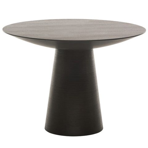 "47"" Ribbed Round Meeting Table"