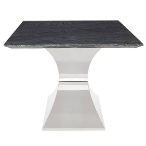 "79"" Bold Executive Office Desk or Conference Table in Black Marble"