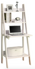 "White 26"" Ladder Desk with Fold Up Work Surface"