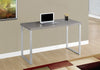"47"" Taupe Office Desk w/ Simple Design"