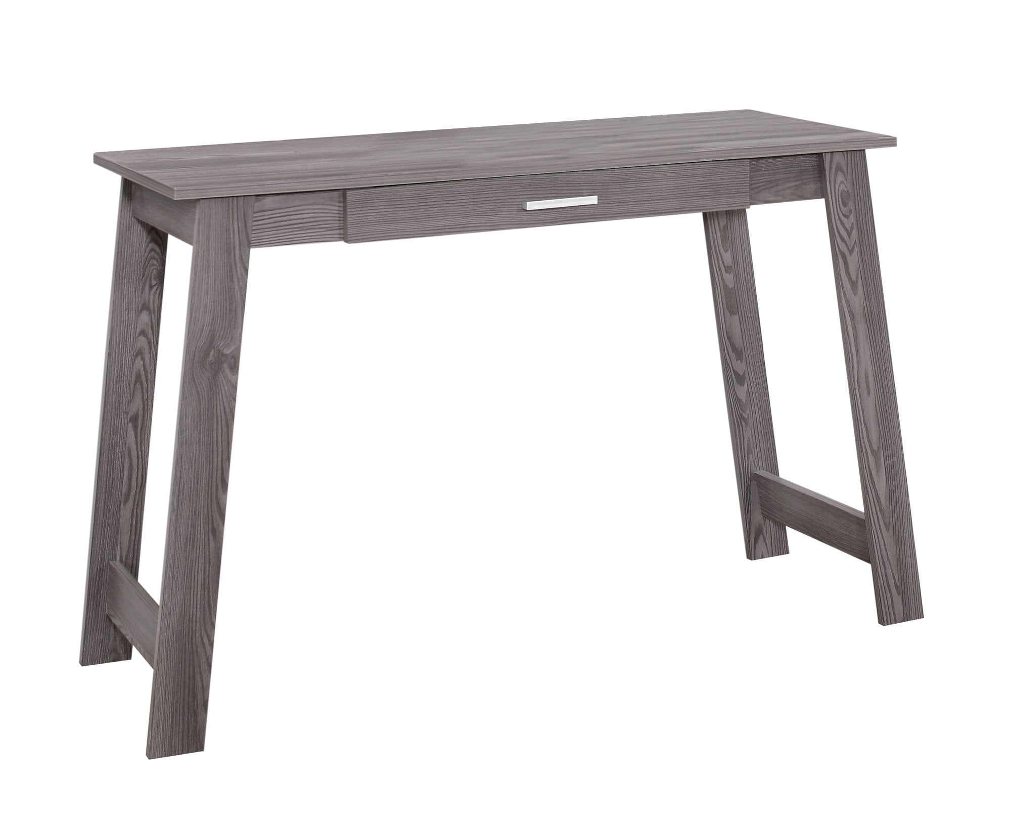 "Light Grey 42"" Office Desk with Compact & Stylish Design"
