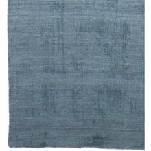 Load image into Gallery viewer, Understated Ocean Blue Wool Office Rug, 5 X 8