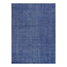 Load image into Gallery viewer, 5 x 8 Blue Office Rug w/ Subtle Patterning