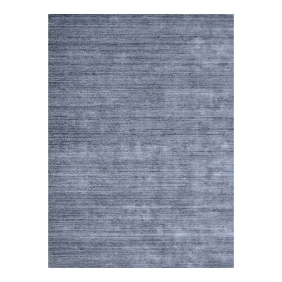 5 x 8 Steel Office Rug w/ Horizontal Patterning