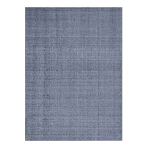 8 x 10 Smooth Steel Office Rug w/ Understated Patterning