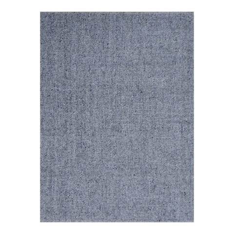 5 x 8 Subtle Charcoal Gray Office Rug w/ Elegant Patterning