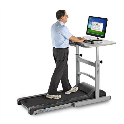 Premium Treadmill Desk Workstation by LifeSpan (TR1200DT5)
