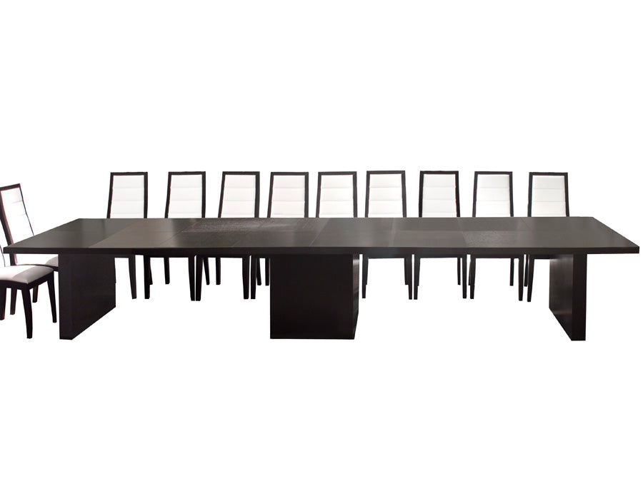 Modern Wenge Conference Table (Expands from 53