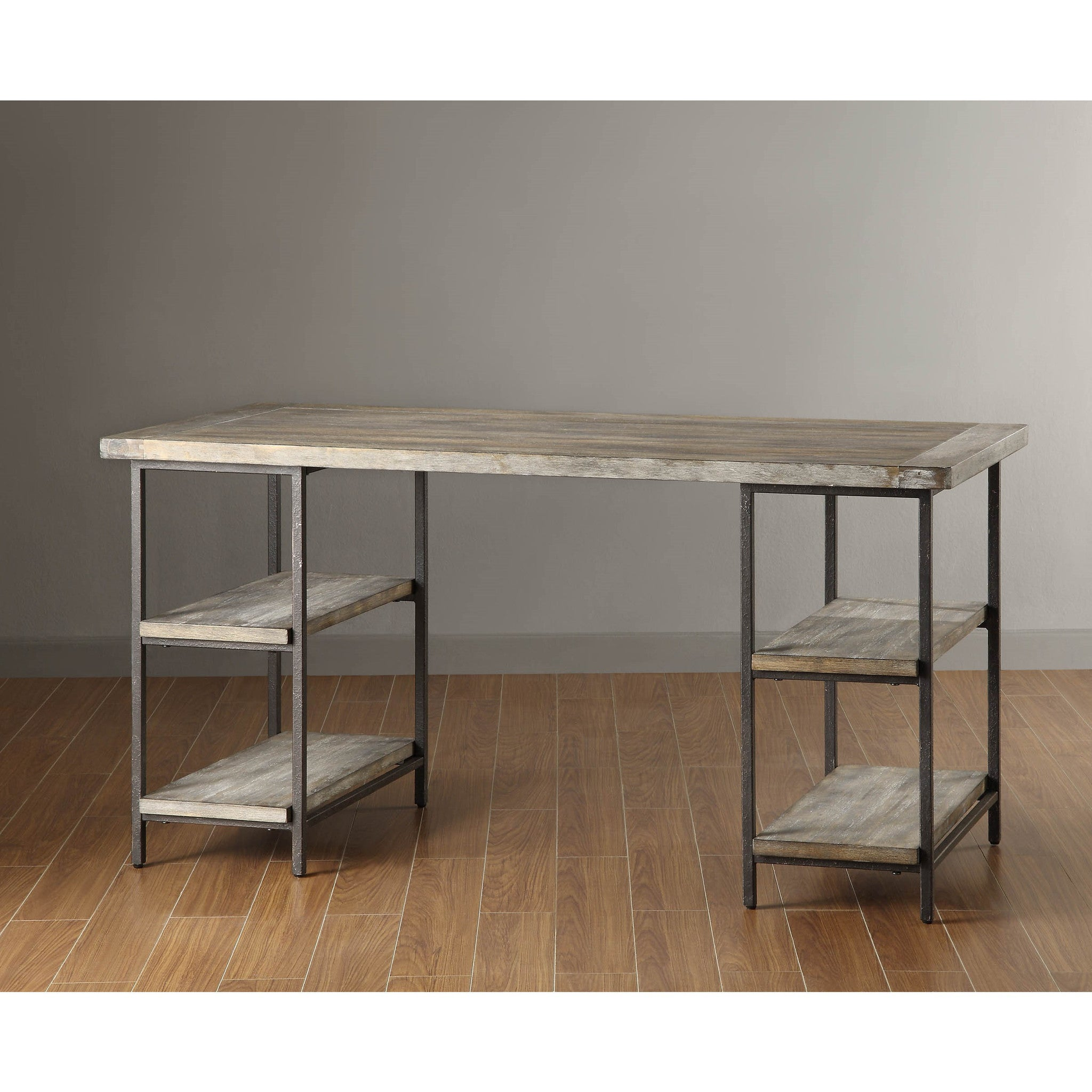 "Modern Reclaimed Gray 60"" Office Desk"