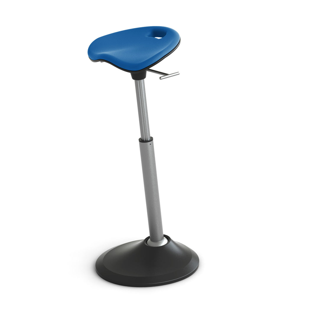 Blue Perch Seat with Adjustable Height