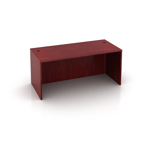 "Mahogany Laminate 66"" Office Desk"