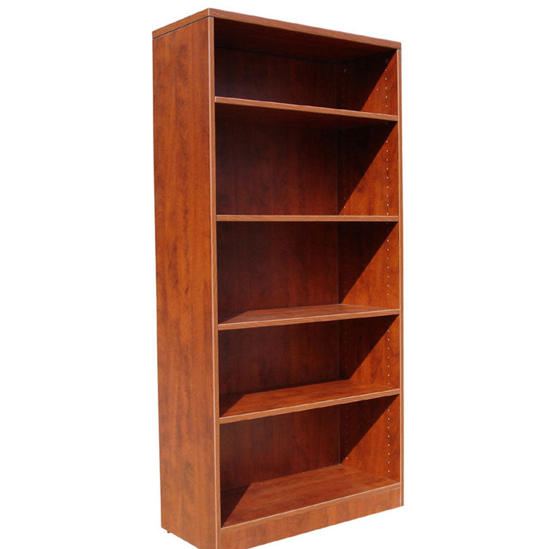 Tall Storage Bookcase in Cherry