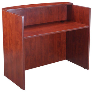 Sturdy & Stunning Cherry Reception Desk