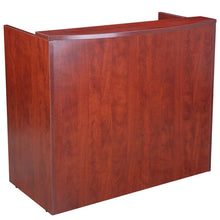 Load image into Gallery viewer, Sturdy & Stunning Cherry Reception Desk