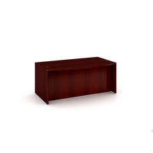 "Load image into Gallery viewer, Bold Mahogany 71"" Bow Front Desk"