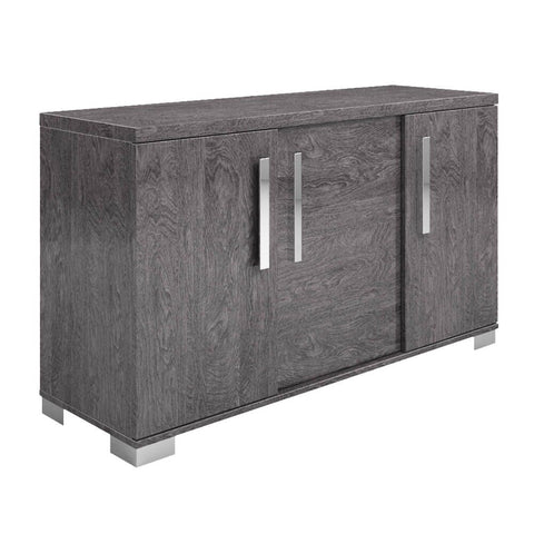 "59"" Grey Birch Storage Credenza"