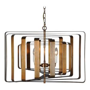 Iron Hanging Pendant Office Light in Industrial Modern Style