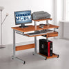 Jensen Multi-Function Desk with Woodgrain Finish