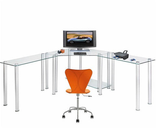 Rta Products Techni Mobili L Shaped Computer Desk