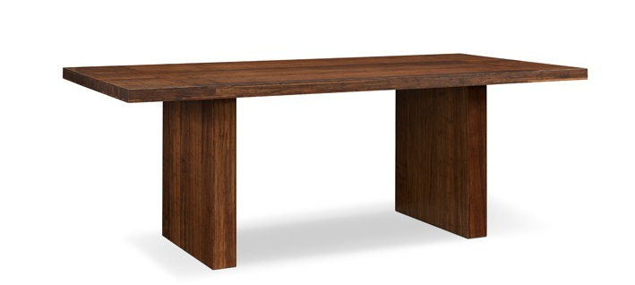 "84"" Solid Bamboo Conference Table in Exotic Carmelized Finish"